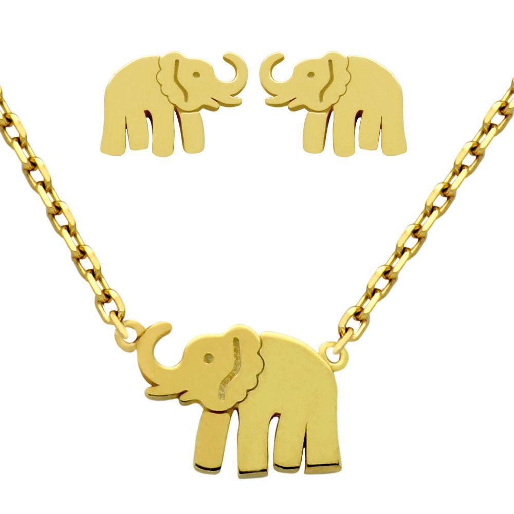 Sterling Elephant Set Jewelry Buzz Box 2