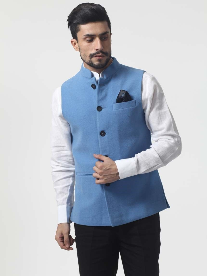 a6b251716b Nehru Jacket - formal look! | Men's jackets in 2019 | Nehru jackets ...