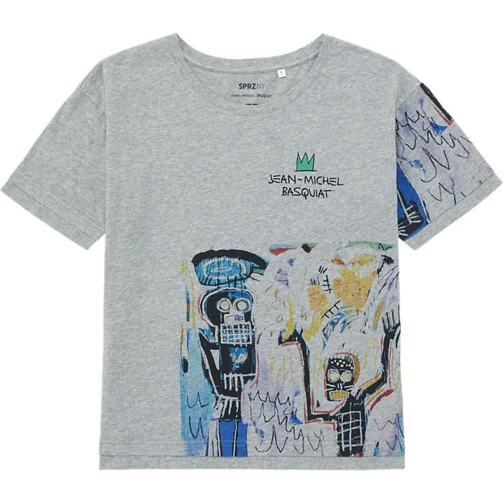 5da652a5d WOMEN SPRZ NY SHORT SLEEVE T-SHIRT (JEAN-MICHEL BASQUIAT) | Stuff to ...