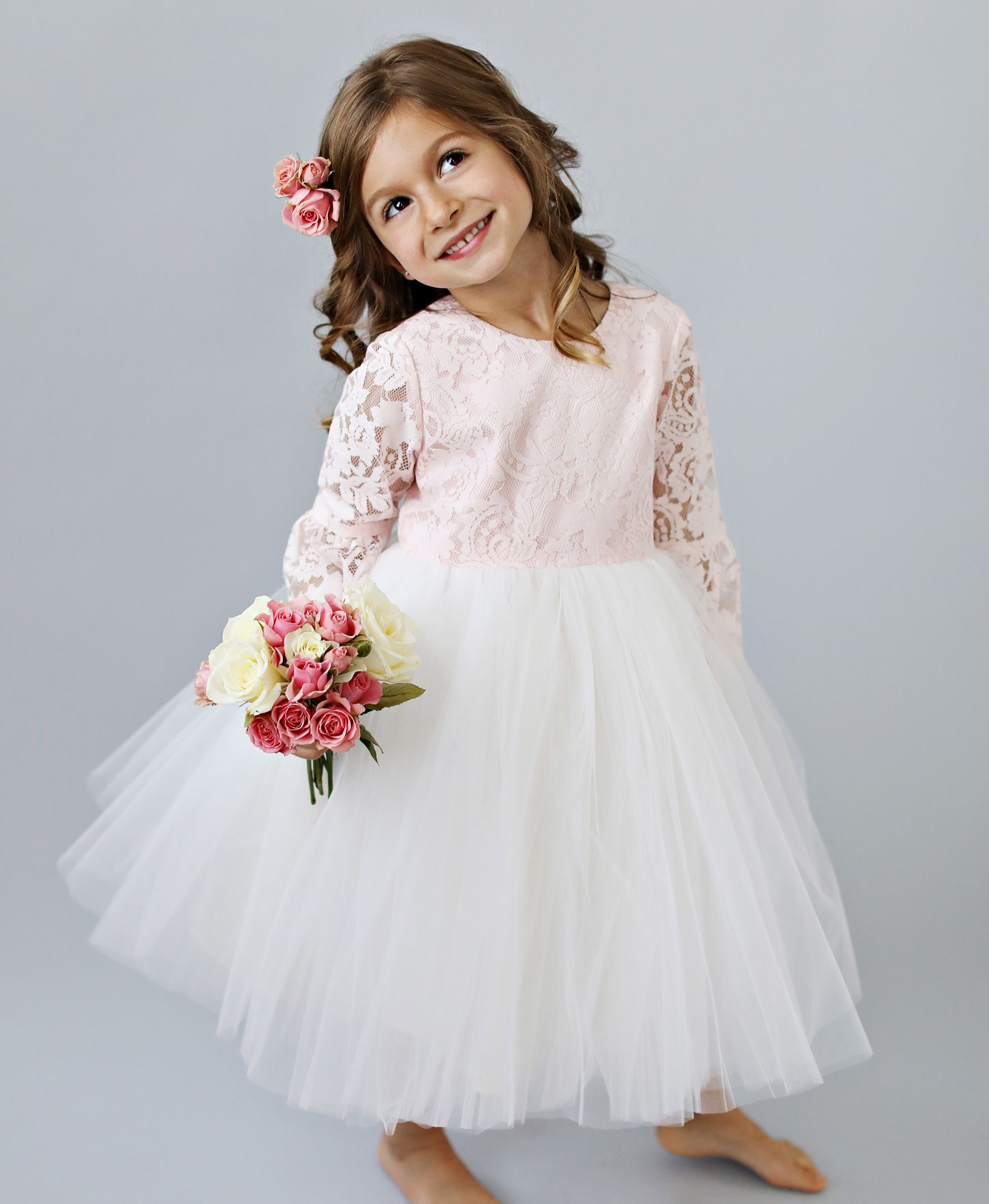 dbcdc0f0586 Need last minute flower girl dresses ! Shop our ready to ship flower girl  dresses