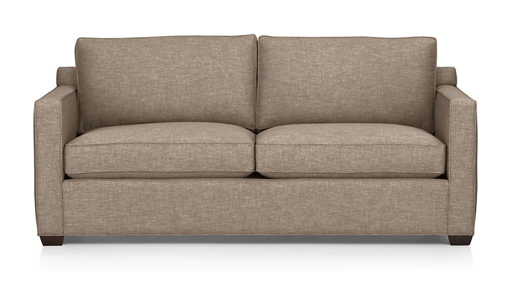 Davis Sofa   Pumice | Crate And Barrel