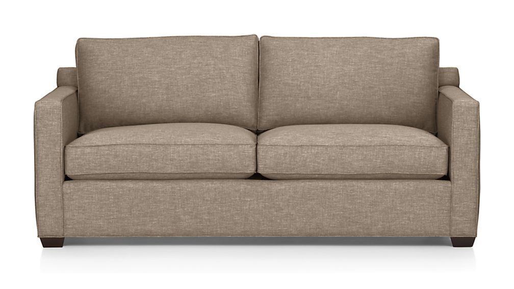 Davis Sofa Pumice Crate And Barrel Sleeper Sofa Sofa