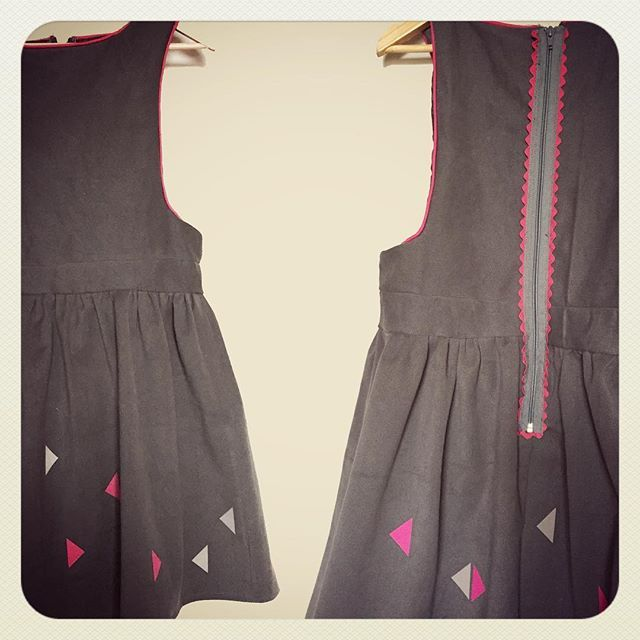 Front & back pinafore...