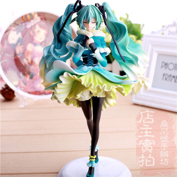 Miku Figure Christmas 2021 Anime Doll Vocaloid Hatsune Miku Snow In Summer 1 7 Scale Pre Painted Pvc Action Figure Model Toy 28cm Christmas Ani In 2021 Anime Toys Anime Figurines Nendoroid Anime