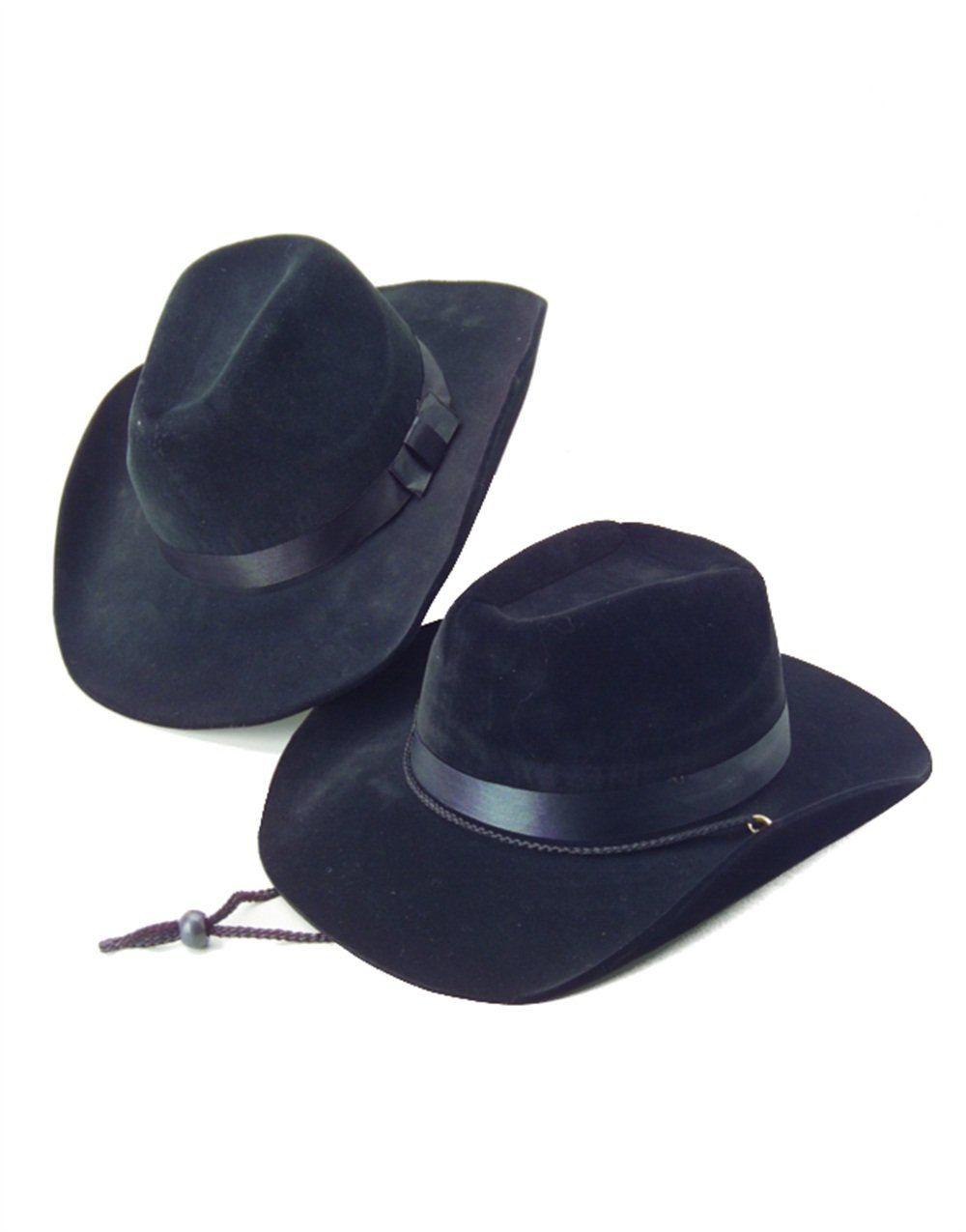 713afdec77d Amazon.com  Country Black Cow Boy or Girl Felt Costume Hat  Costume  Headwear And Hats  Clothing