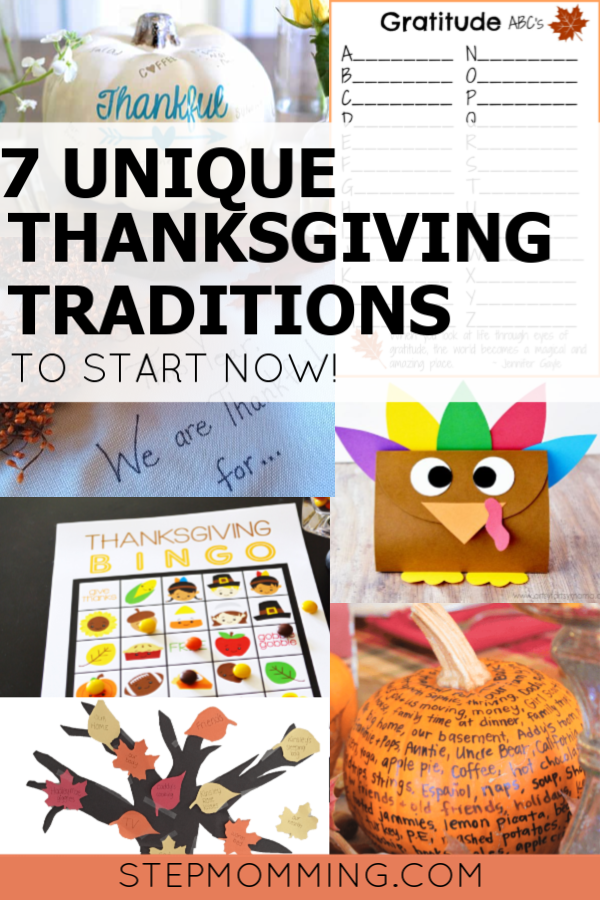 7 Unique Thanksgiving Traditions to Start NOW