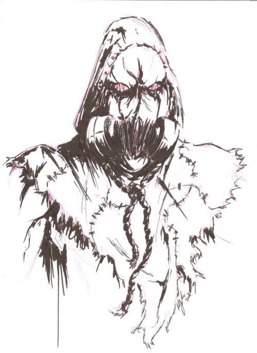 Arkham Scarecrow By Lokkixiix Tumblr Scarecrow Dc Scarecrow Art