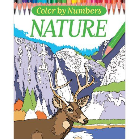 Books Color By Numbers Coloring Books Adult Color By Number