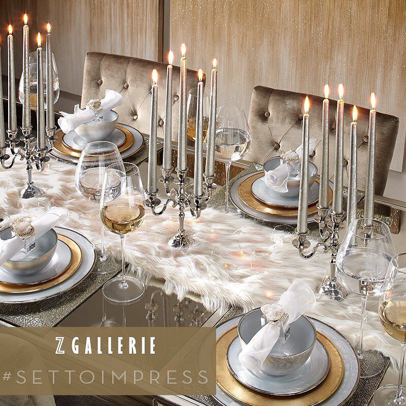 A Tablescape Stacked With Unexpected Delights Like Fur