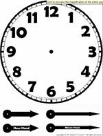 This Telling Time Worksheet maker will generate a