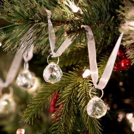 Crystal Ornament Swag Christmas Decoration Holidays Christmas