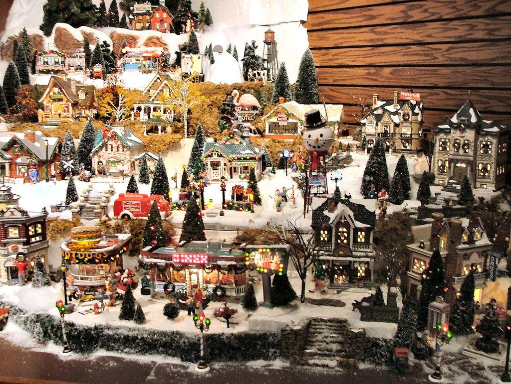 Department 56 dickens village display ideas - Department 56 Original Snow Village Series Display By Department 56