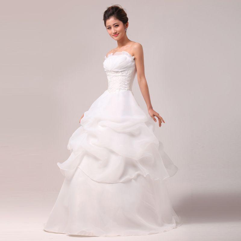 El más nuevo llega Design Boutique Vestido de boda simple y elegante ...