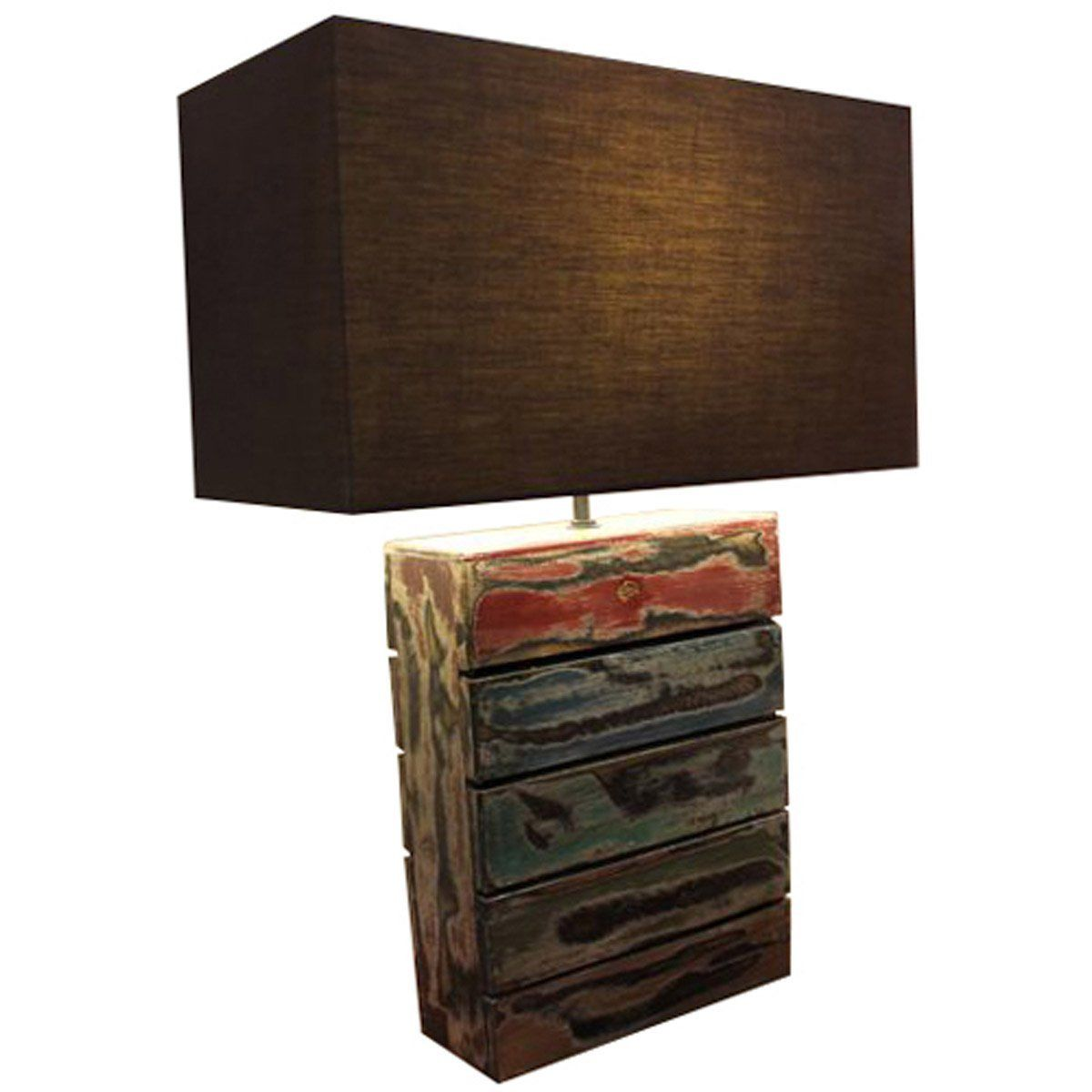 Salvaged Boatwood Table Lamp (With Images)