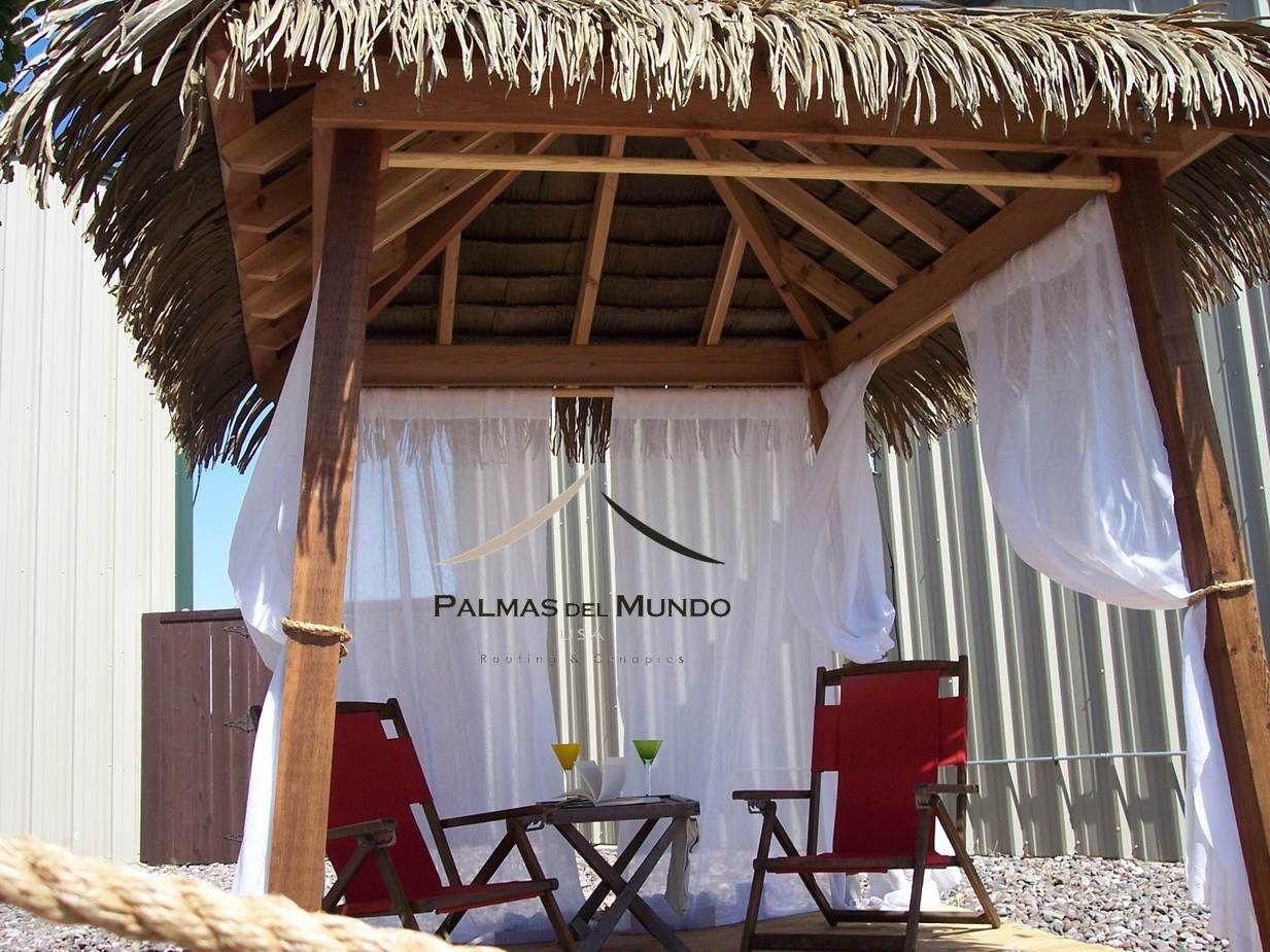 Thatch Roof Kits For Deck   Cabana Palapa Gazebo Tiki Huts Thatch Umbrellas  Bamboo Tiki