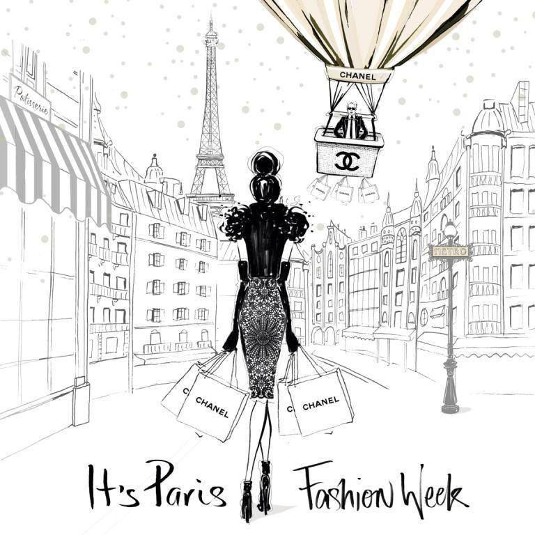 Dessin Shopping megan hess personal shopping image | fashion illustration