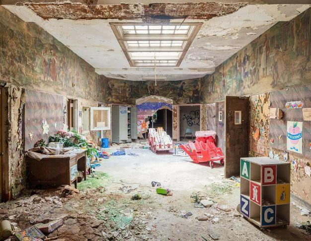 Rockland Psychiatric Centerillä on pahamaineinen historia.