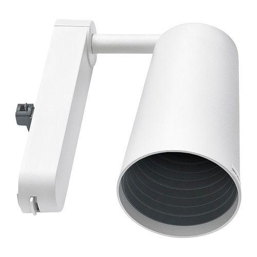 IKEA - IKEA 365+ SÄNDA, Spotlight, Den konsentrerte lysstrålen er god til å lyse opp bilder eller andre gjenstander.Justerbare, gjør det lett å fokusere lyset.Fleksibel tilkobling gjør det enkelt å flytte spotlighten når du trenger lys et annet sted.