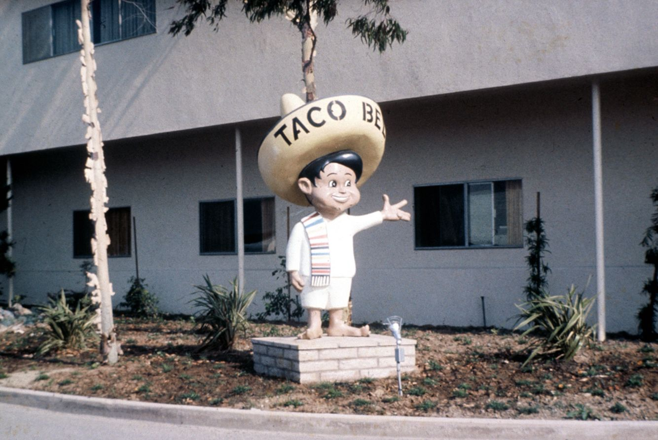Taco Boy At The Taco Bell Headquarters In Florida Ca 1960s Photo