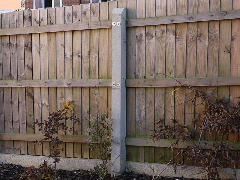 Image Result For Concrete Fence Posts Concrete Fence Posts Concrete Fence Fence Post