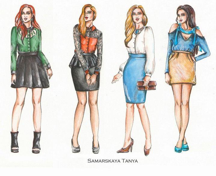 девушка модель одежды работа