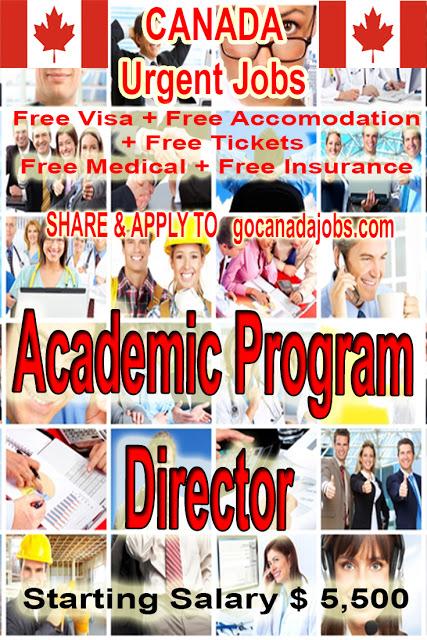 Academic Program Director Jobs Career Hiring In Canada Flexible