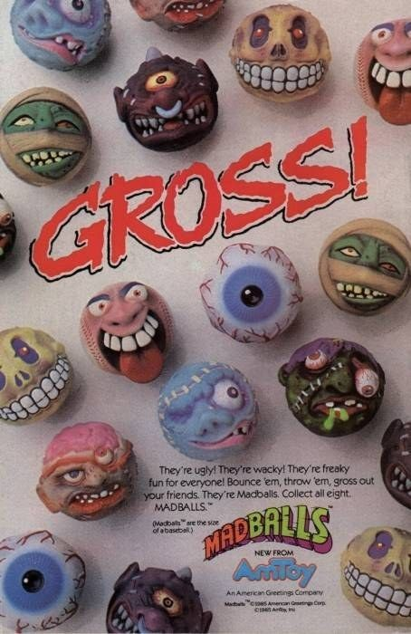 Realizing, the hard way, that you did NOT want to get hit with a Madball! | 55 Things Only '80s Boys Can Understand