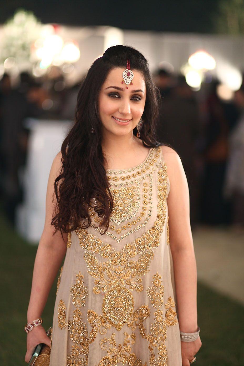 Madiha Hashmi Wearing Mina Hasan Desi Clothes Indian Dresses Eastern