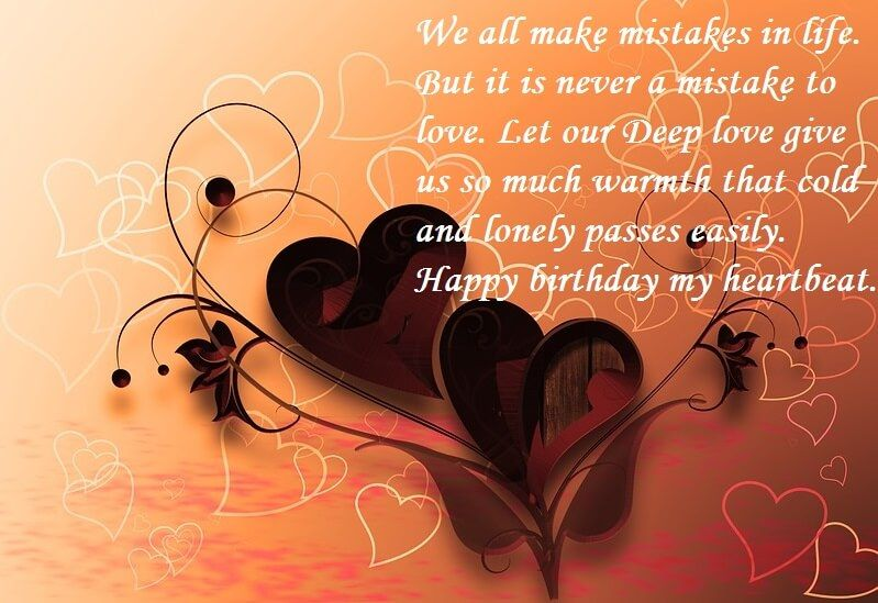 Birthday Wishes For Boyfriend With Love Quotes Happy Birthday