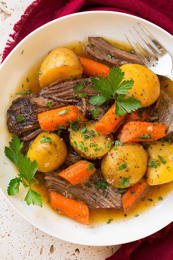 potatoes and carrots beef shoulder roast yukon gold potatoes pot roast ...