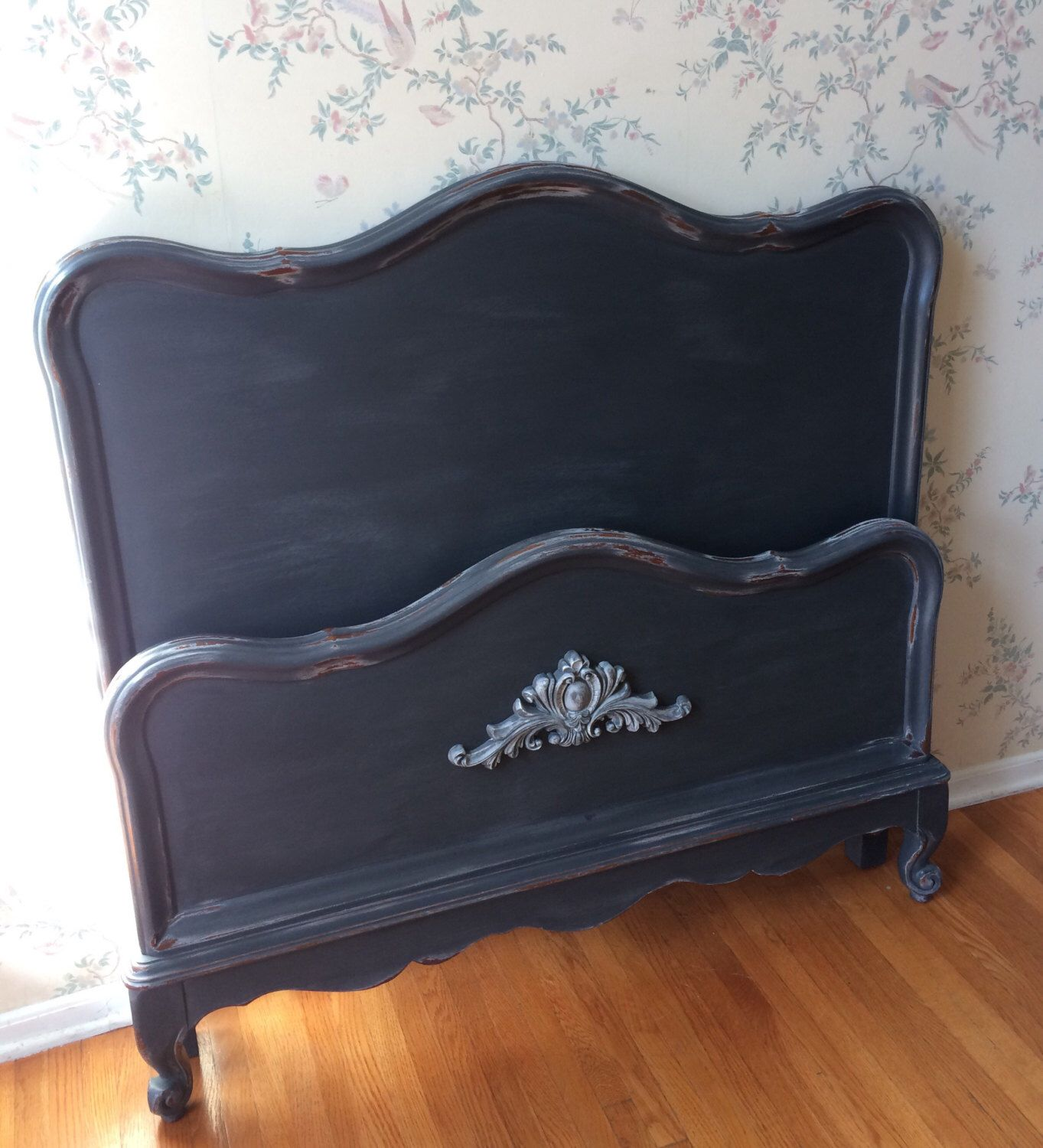 Modern Furniture 2014 Clever Furniture Arrangement Tips: SOLD!-Twin Bed,Bed,Headboard,Upcycled Furniture,Painted
