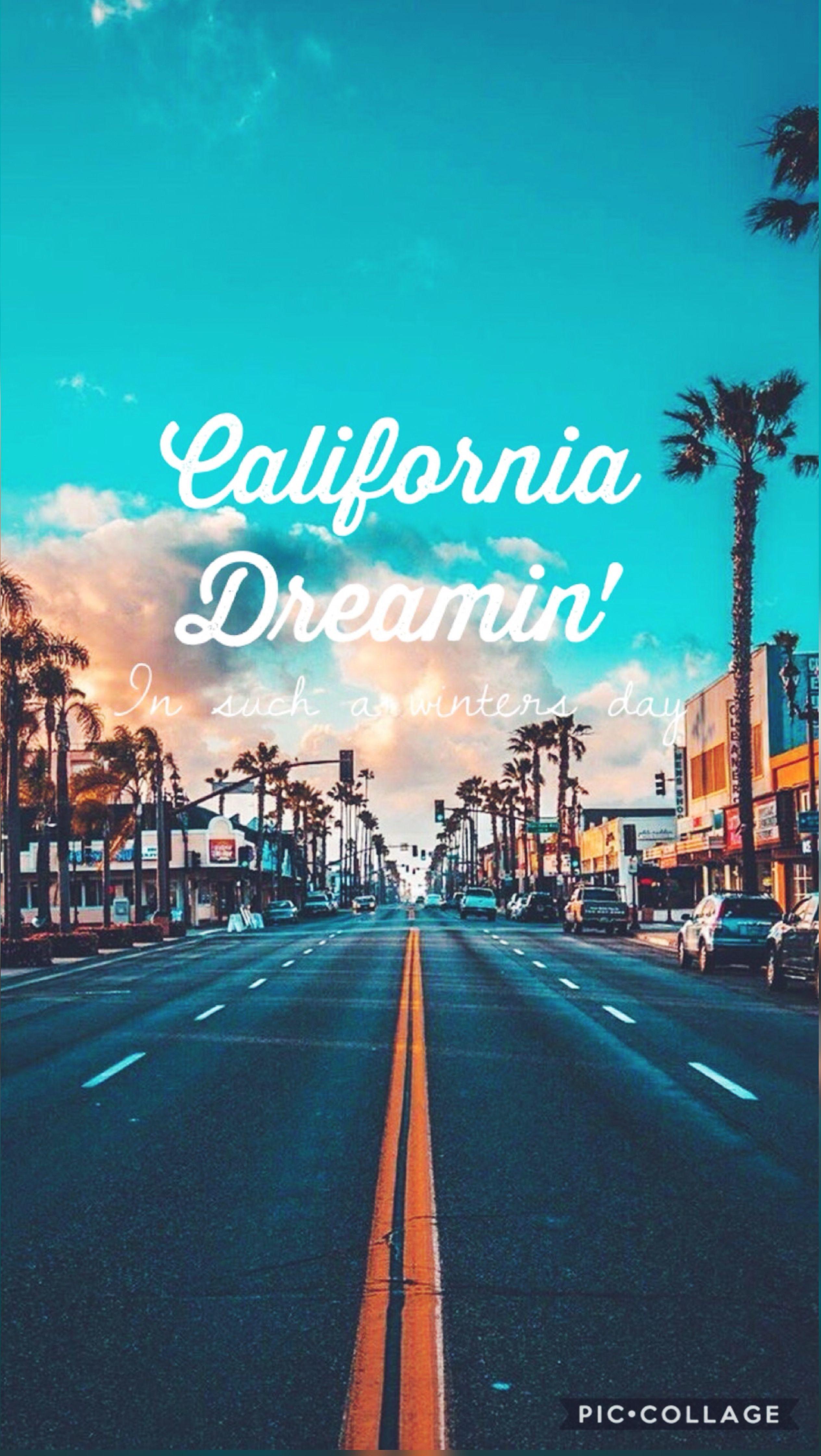 California /LA Wallpaper Califórnia Dreamin // The Mamas