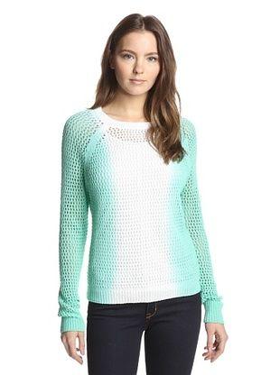 57% OFF Shae Women's Vertical Dip Dye Pullover (Tulum)