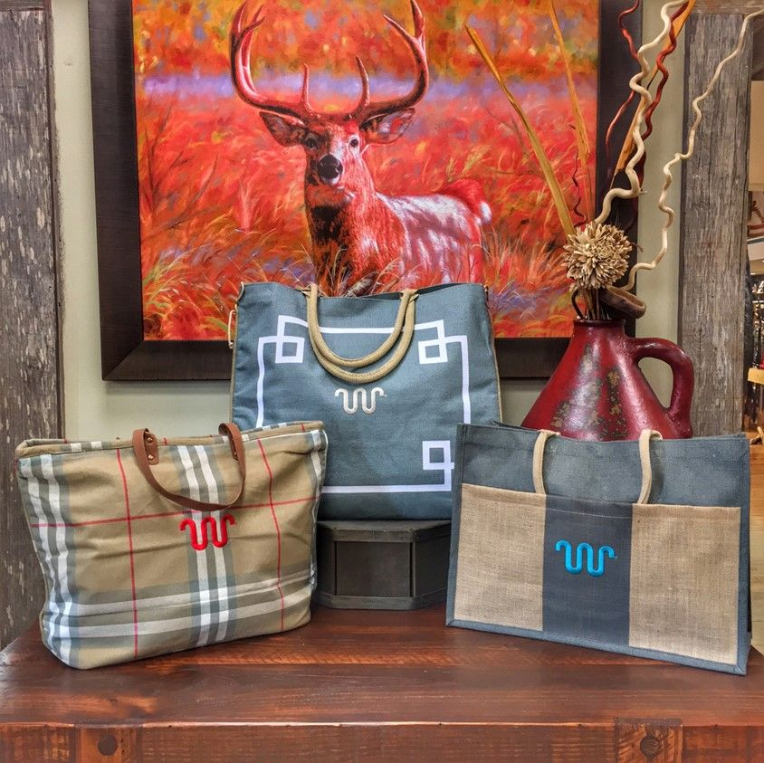 Rodeo-exclusive Jute bags  | King Ranch Saddle Shop | King