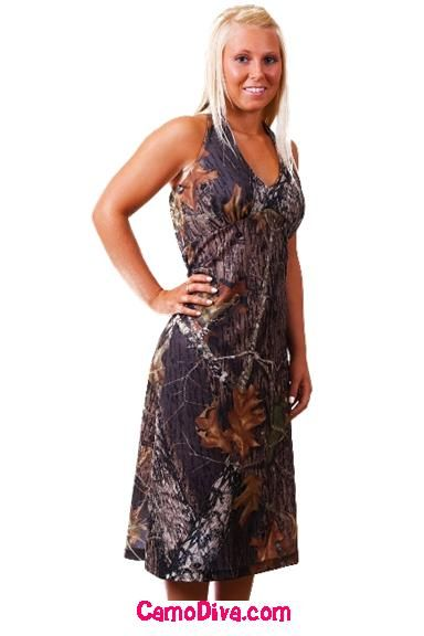 Mossy Oak Camo Dresses Sundresses