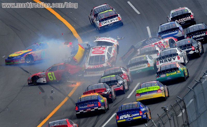 best crashes pic. | Best Crashes | Pinterest | NASCAR