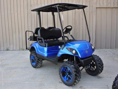 Custom Painted 2012 Yamaha Drive Gas Golf Cart For Sale