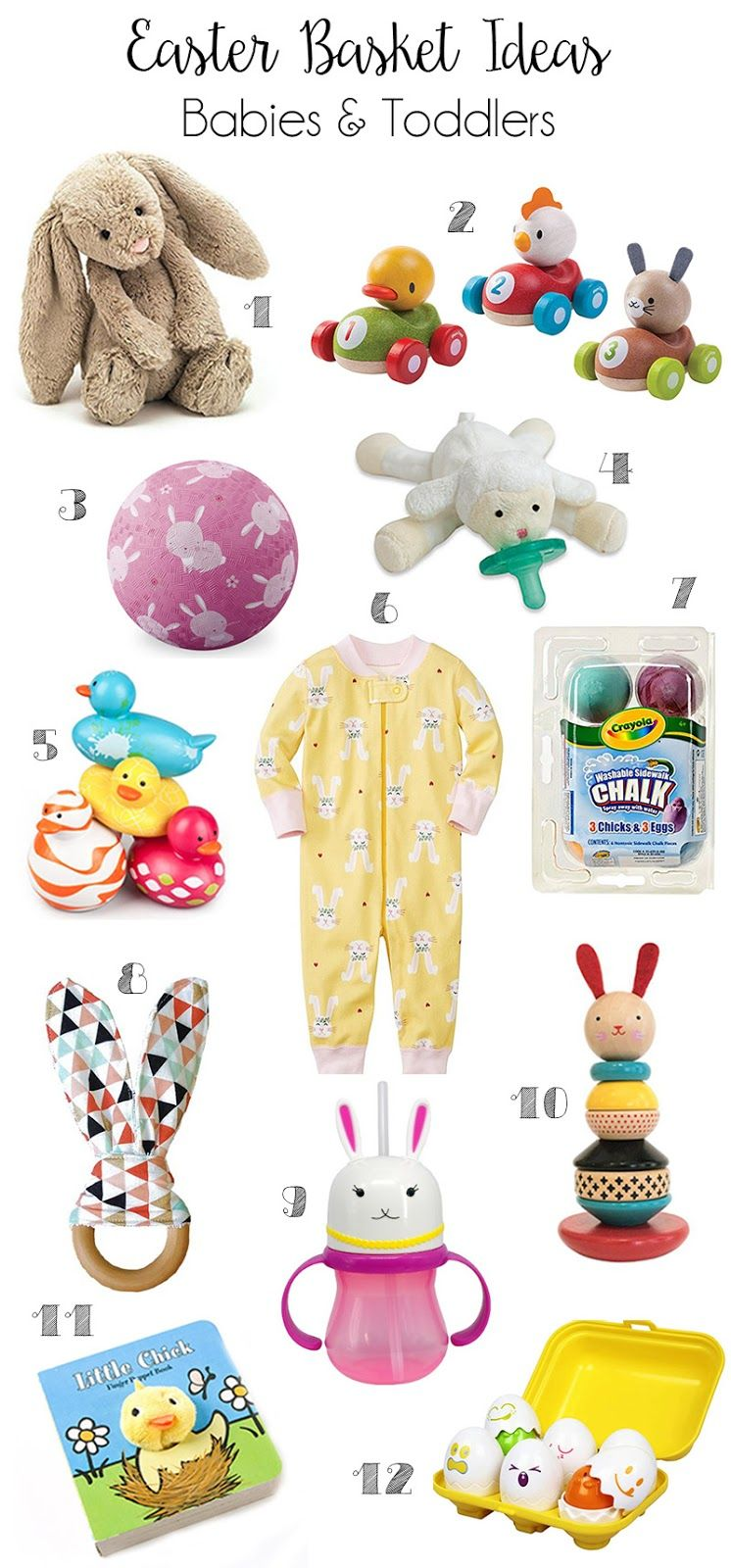 Easter basket ideas babies toddlers team shep blog pinterest easter basket ideas babies toddlers negle Gallery
