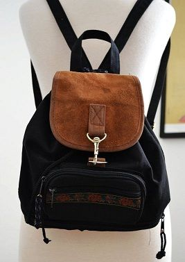 Backpack purses were a popular trend among teens and young adults ...