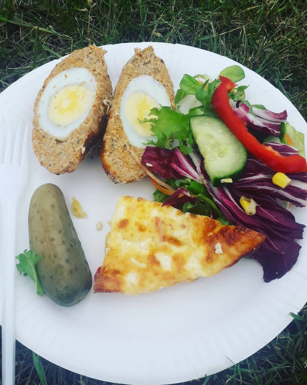 Picnic in the park. Scotch eggs 1 syn using slimming world sausages- skin removed. . . .  park  parklife  dietplan  diet  weightloss  myjourney  slim  beachbody  fit  exercise  salad  hiit  health  slimming  healthy  swuk  exercise  health  slimming  sw  slimmingworld  slimmingworldmember #scotcheggs Picnic in the park. Scotch eggs 1 syn using slimming world sausages- skin removed. . . .  park  parklife  dietplan  diet  weightloss  myjourney  slim  beachbody  fit  exercise  salad  hiit  health #scotcheggs