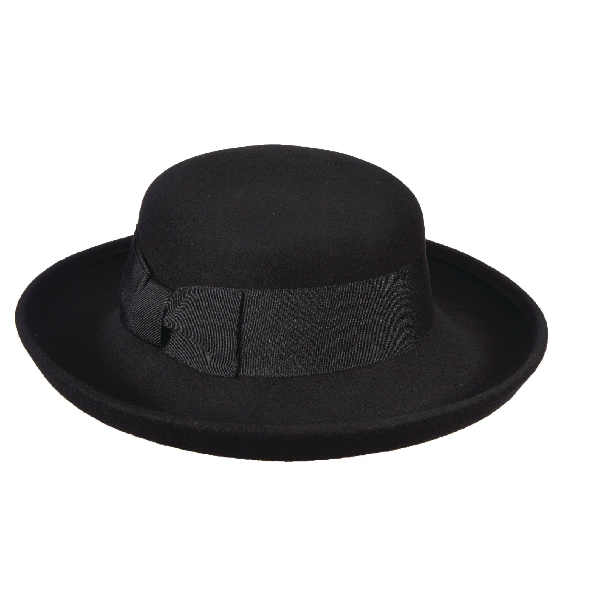 26ec02d16 Up-Turned Brim Wool Felt Hat by Scala in 2019   Products   Hats ...