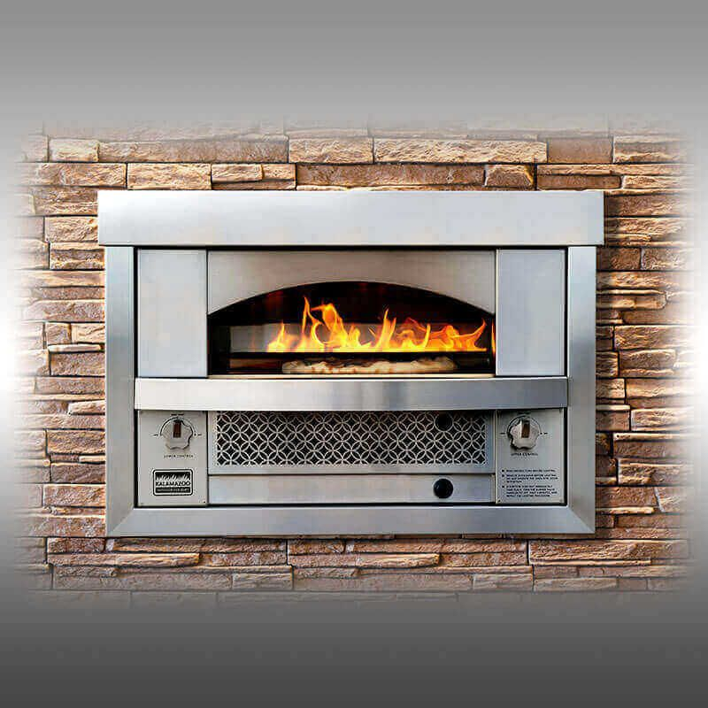 Built In Artisan Fire Pizza Oven Pizza Oven Outdoor