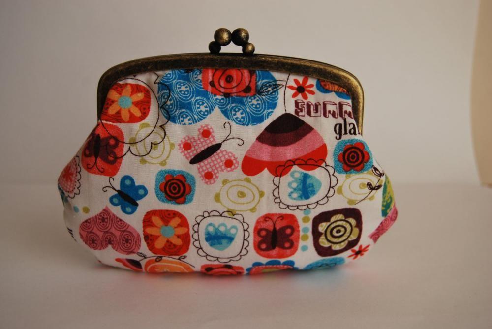 Kiss lock purse metal frame