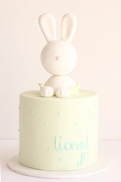 Cute Bunny Baby Shower Cake Beautiful Cakes Pinterest Shower