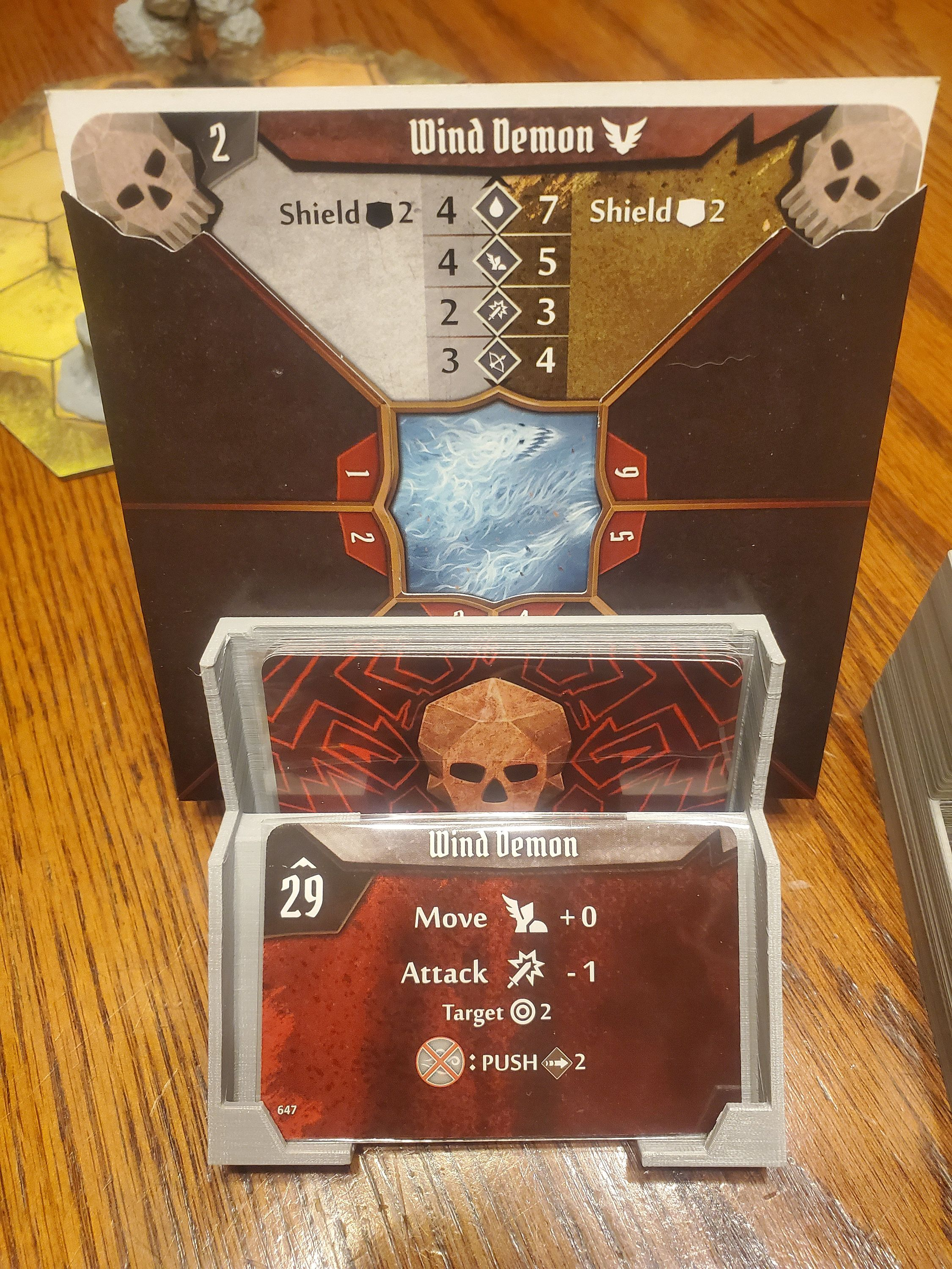 Gloomhaven Monster Card Holder With Images Monster Cards Card