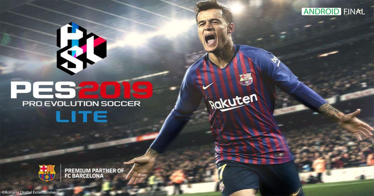 PES 2019 Pro Evolution Soccer v3.3.1 APK Obb Download