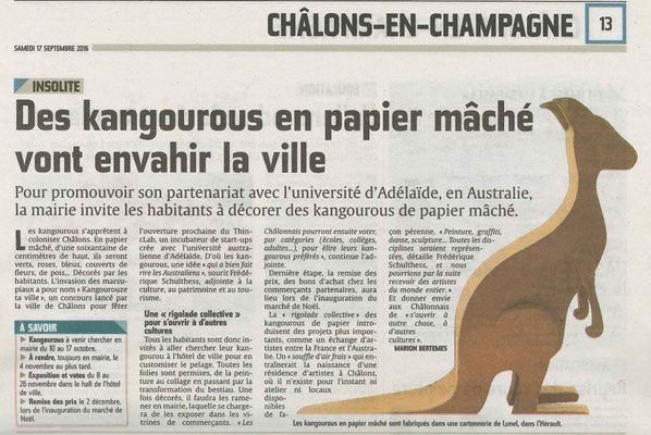Kangourous En Carton By Cartonnable Organisation D Ateliers Art En Carton Mobilier D Art