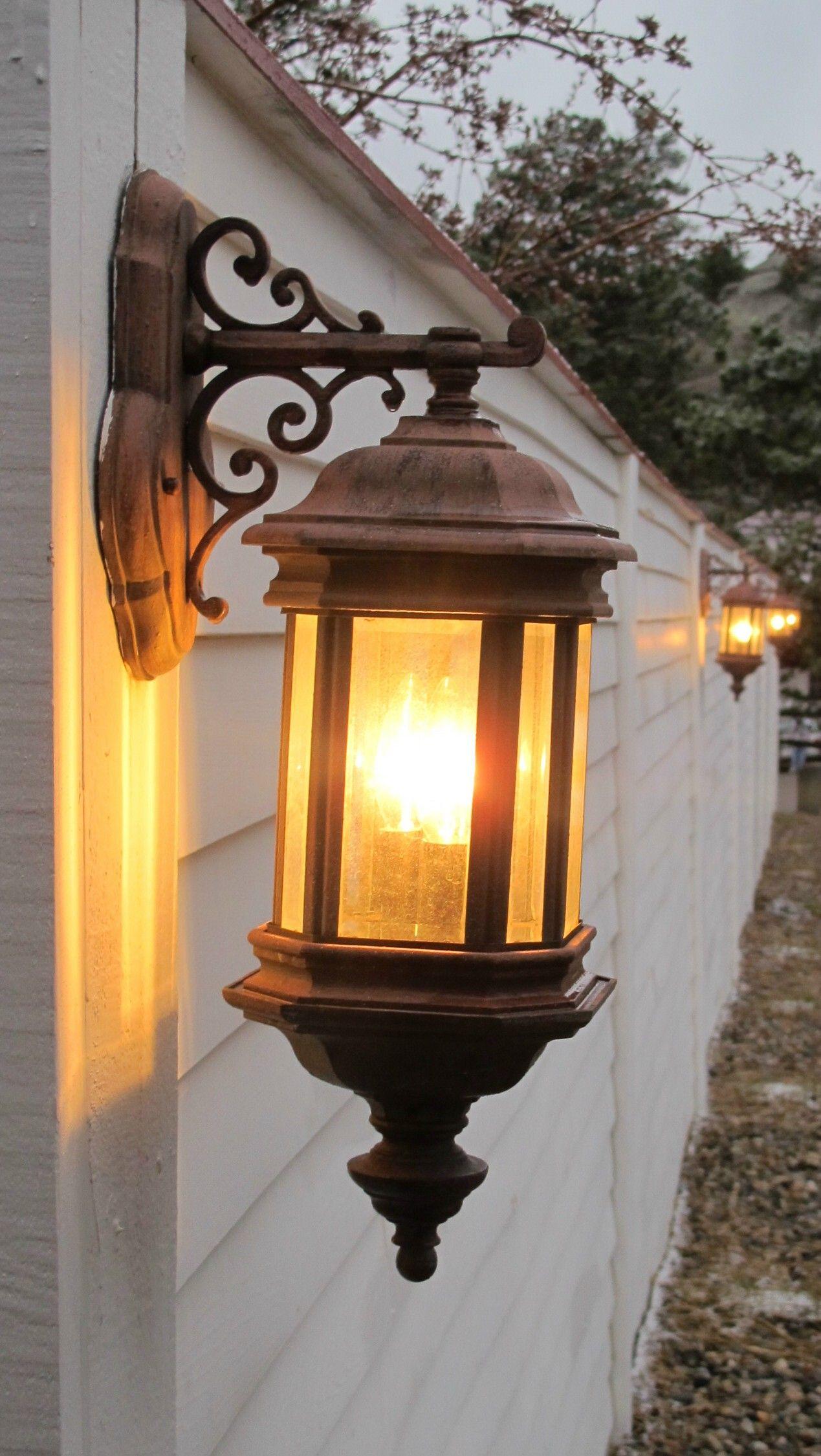 Outdoor Lighting - Stanley Hotel Colorado