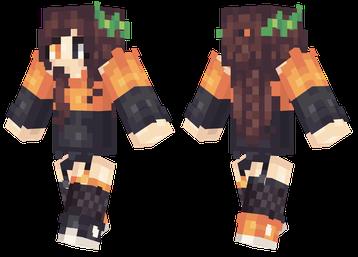 Halloween Girl Skin Minecraft | mineCraft | Pinterest | Girls and ...