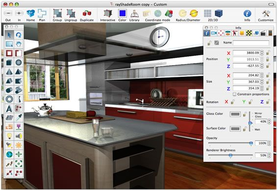 Create your own online design your Free Kitchen Design Software ...
